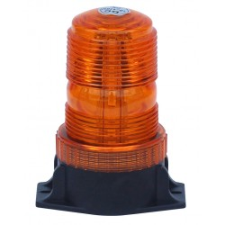 GYROPHARE ORANGE A POSER 3 POINT A LED 10 A 110 V (petit modele )