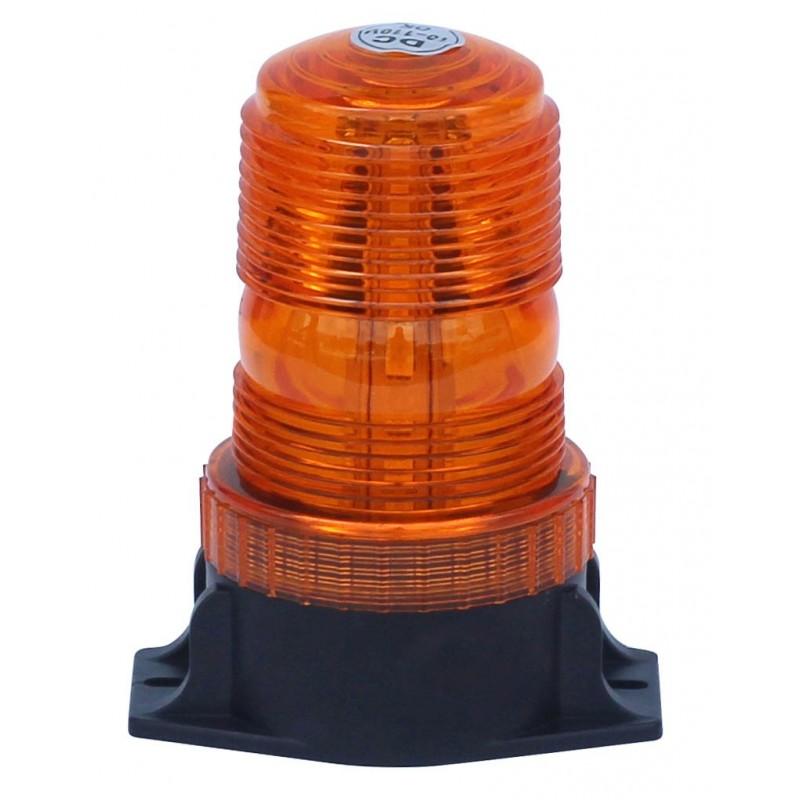 gyrophare orange a poser 3 point a led 10 a 110 v homologue r65 petit modele. Black Bedroom Furniture Sets. Home Design Ideas