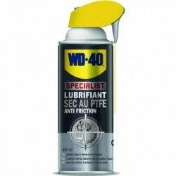 NETTOYANT WD40 LUBRIFIANT SEC AU PTFE ( 400 ml )