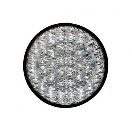 FEU ROND BLANC CLIGNOTANT / STOP 24V LED JOKON SERIE 726