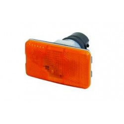FEU DE GABARIT ORANGE LATERAL SCANIA A AMPOULE