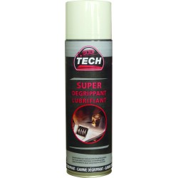 LOT DE 12 AEROSOLS SUPER DEGRIPPANT 500 ML