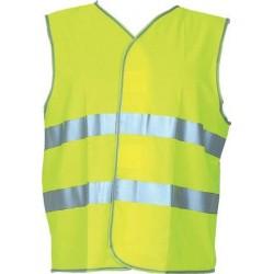 Gilet jaune Taille XL - Bandes Réfléchissantes