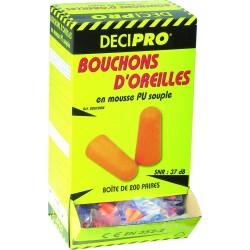 200 PAIRES DE BOUCHONS ANTI BRUIT POUR OREILLES