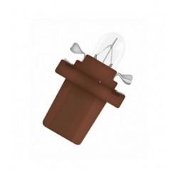 BOITE DE 10 AMPOULES TACHY 24V 1.2W culot marron BX8.5D OSRAM