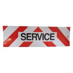 PANNEAU SERVICE 500 X 150 MM MAGNETIQUE ( classe 2 )