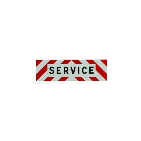 PANNEAU SERVICE Alu 1000 X 300 MM ( classe 2 )