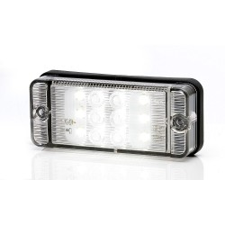 Feu de recul 12 led 12/24v 107 x 45 x 25 mm